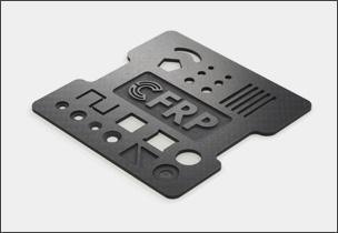 CFRP板加工サンプル品