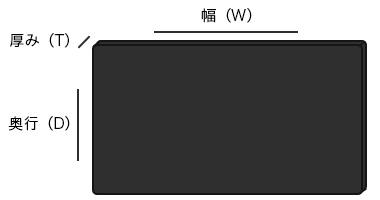 板材注文可能なサイズ